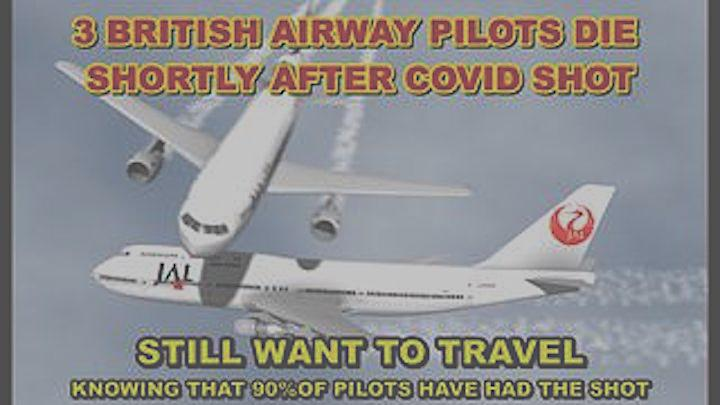 3 British Pilots Die In 3 Days! Airlines New Crisis Whether To Ban Vaccinated Pilots From Flying? – Must Video