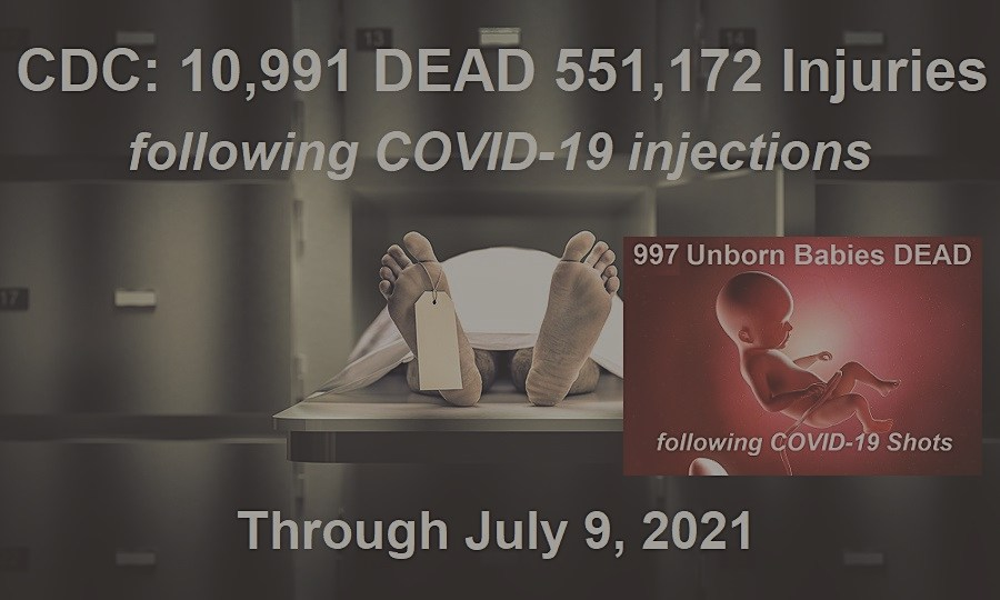 CENSORED: CDC Records Almost 12,000 DEATHS in 7 Months Following COVID-19 Injections