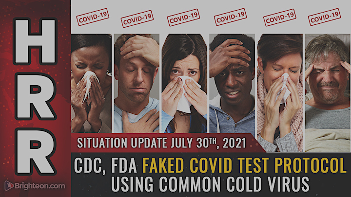 """CDC and FDA FINALLY admit that COVID is FAKE and have ZERO physical samples of the SARS-CoV-2 virus!!! There is NO """"coronavirus""""!!!"""