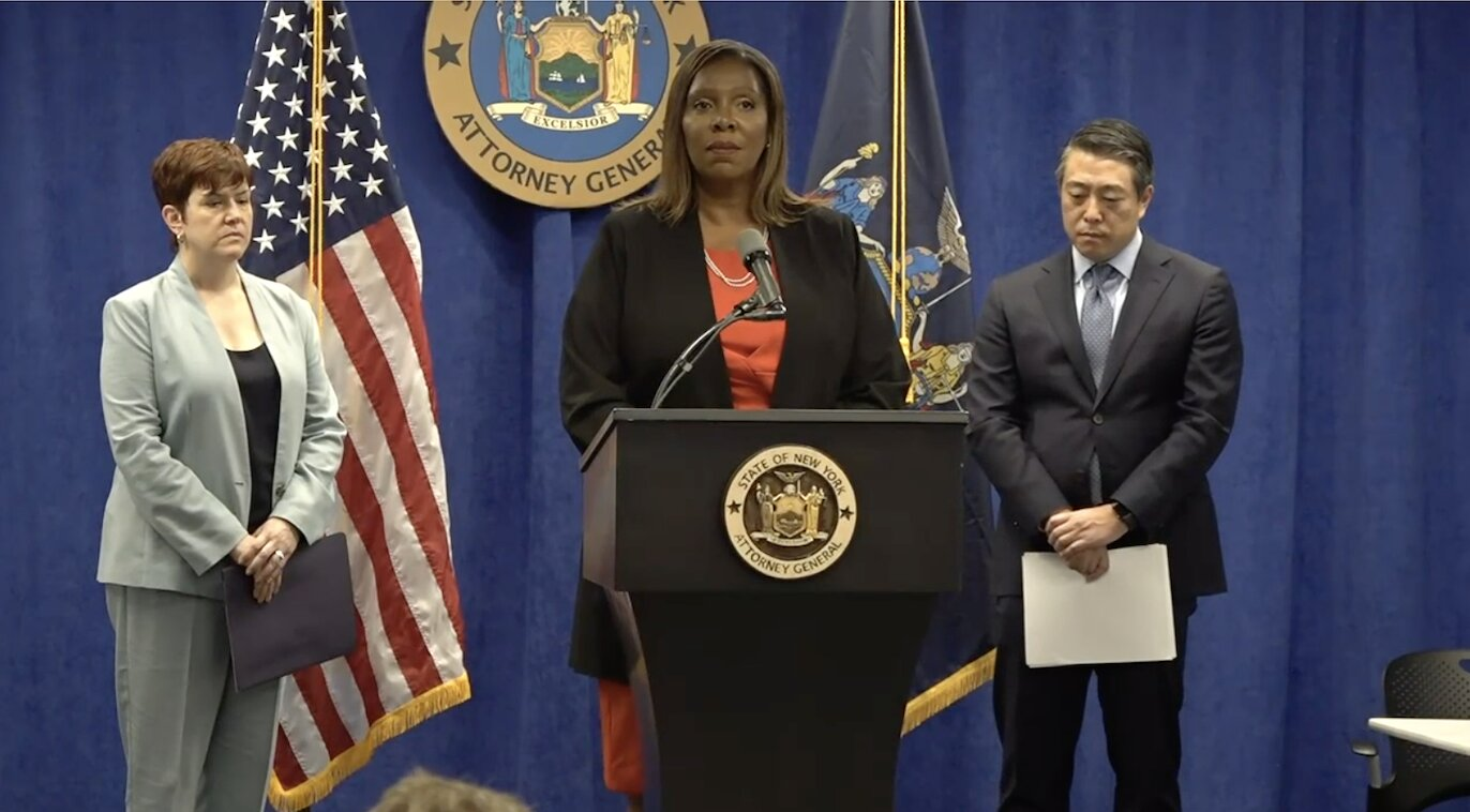 Cuomo sexually harassed multiple women in violation of state and federal law, NY AG finds