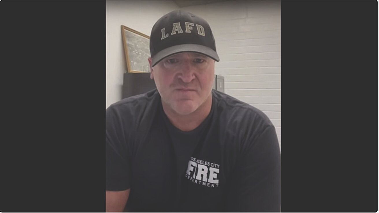 Los Angeles Fire Department Captain Under Investigation For Video Slamming Covid Vaccine Tyranny