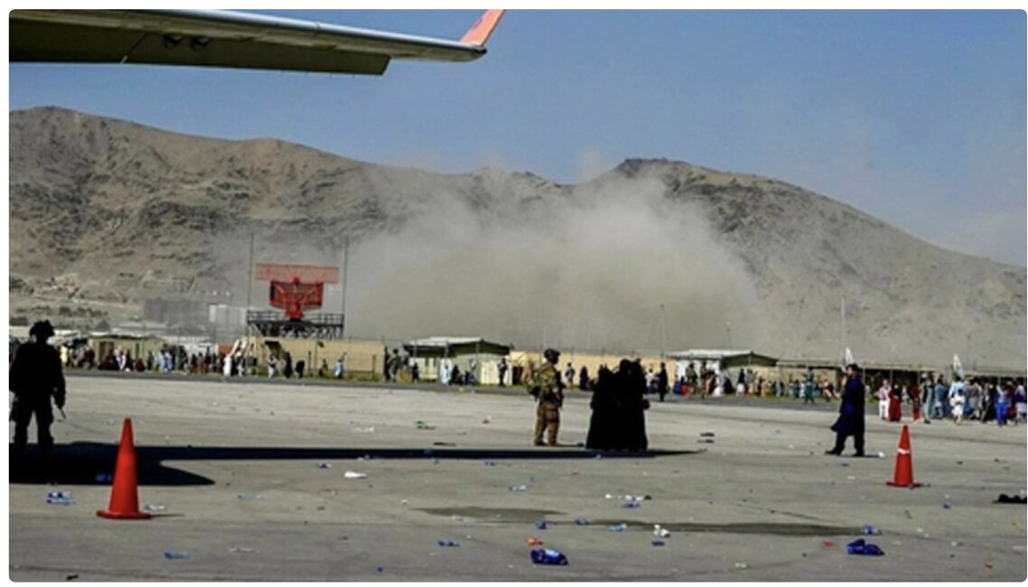 Second Explosion In Kabul Airport; Over A Dozen Dead Including Children; ISIS Suicide Bomber Responsible