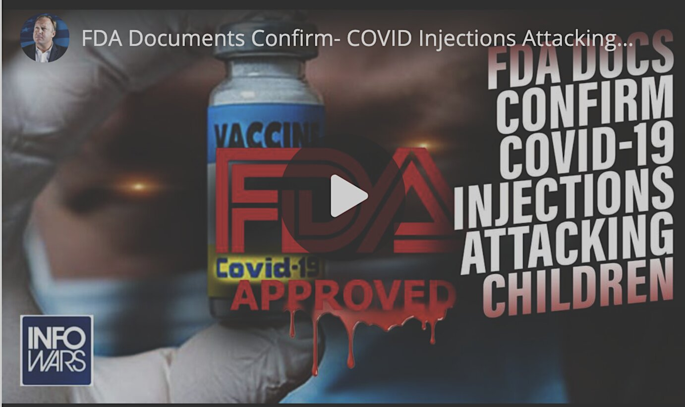 FDA Documents Confirm: COVID Injections Attacking Children as Biden Pushes Multiple Boosters