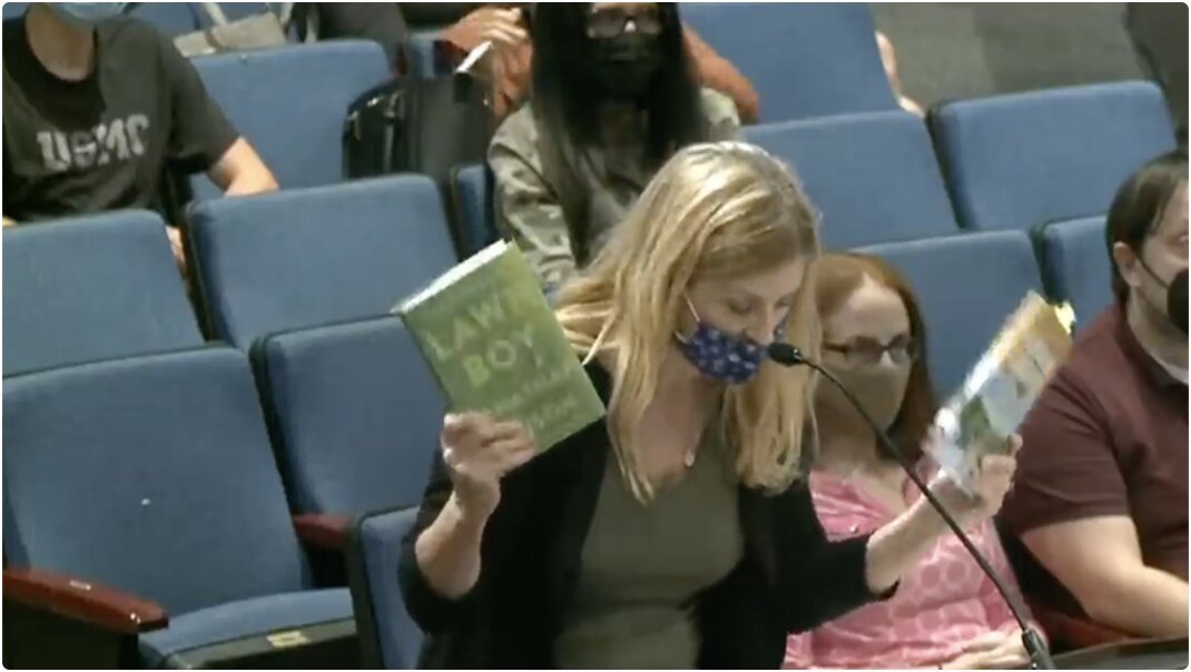 Video: School Board Attempts To Silence Parent Reading Out Pedo Porn Books From Its Own Library