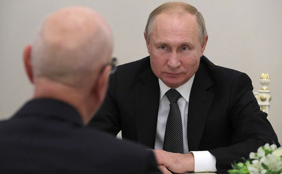Russia Joins Centre for the Fourth Industrial Revolution. The GREAT RESET is now OFFICIAL in PUTIN's RUSSIA!!!